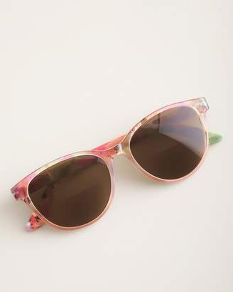 Chico's Chicos Floral-Print Bifocal Sun Reading Glasses
