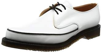 George Cox (ジョージ コックス) - [ジョージコックス] レースアップ M/G Gibson Leather 8075 White Leather UK 9(27.5 cm)