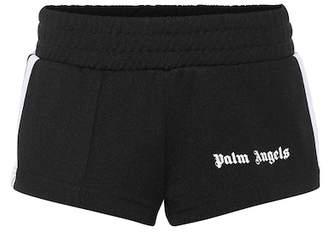 Palm Angels Logo printed shorts