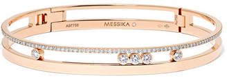 Möve Messika Romane 18-karat Rose Gold Diamond Bangle