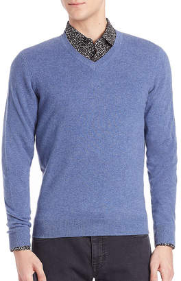 Saks Fifth Avenue Collection Collection Cashmere V-Neck Sweater