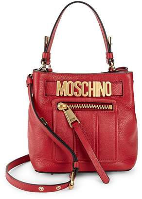 Moschino Women's Textured Leather Tote