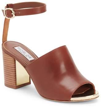 Rachel Zoe Women's Grechen Peep-Toe Sandals
