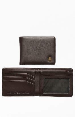 Nixon Brown Cape Vegan Leather Wallet