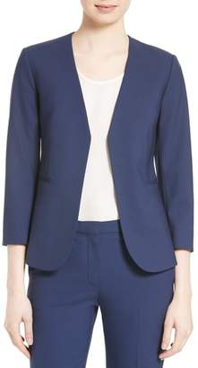 Theory Lindrayia B Good Wool Suit Jacket