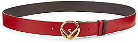 Fendi Women's Vitello Liberto Bicolor Leather Belt