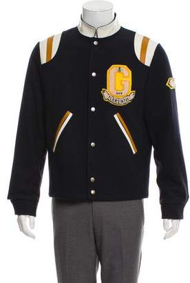 Gucci Felt Appliqué Varsity Jacket