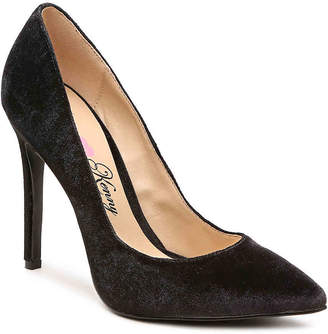 Penny Loves Kenny Main Velvet Pump - Women's