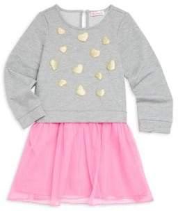 Design History Little Girl's Sweater Tutu Dress