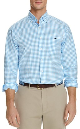 Vineyard Vines Elmont Gingham Tucker Classic Fit Button-Down Shirt $98.50 thestylecure.com