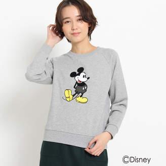 Dessin (デッサン) - デッサン 刺繍スウェット(ミッキーマウス)