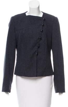 Armani Collezioni Tweed Wool-Blend Jacket