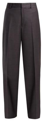 Raey Fine Wool Trousers - Womens - Grey