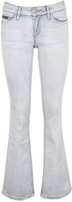 Philipp Plein Wide Flared Jeans