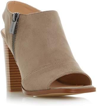 Head Over Heels JESSICA - Peep Toe Block Heel Sandal