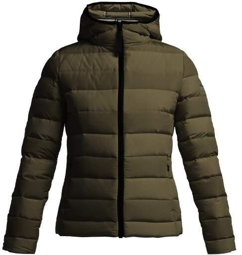 Capranea - Moon Hooded Down Filled Jacket - Womens - Black