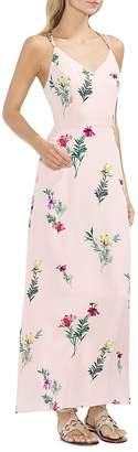 Vince Camuto Tropical Garden Strappy Maxi Dress