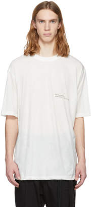 Song For The Mute White Wander Kid Oversized T-Shirt