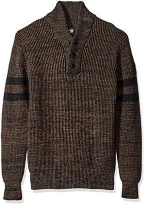 G Star Men's Dadin Sport Shawl Collar Sweater
