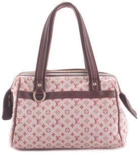 Louis VuittonLOUIS VUITTON Cherry Canvas Mini Lin Josephine PM Satchel Handbag BY4042 MHL