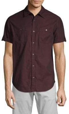 Calvin Klein Jeans Short Sleeve Corduroy Shirt