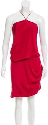 Prabal Gurung Rev Your Engine Draped Dress