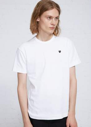 Comme des Garcons Small Black Heart T-shirt