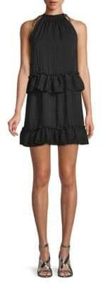 NSR Striped Chiffon Dress