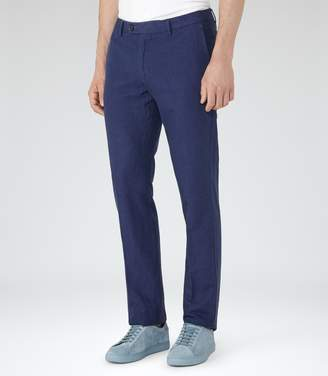 Reiss Tutin Melange Weave Trousers