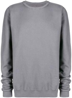 Rick Owens loose fit sweatshirt