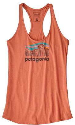 Patagonia Women's Fitz Roy Boulders Organic Cotton Tank Top