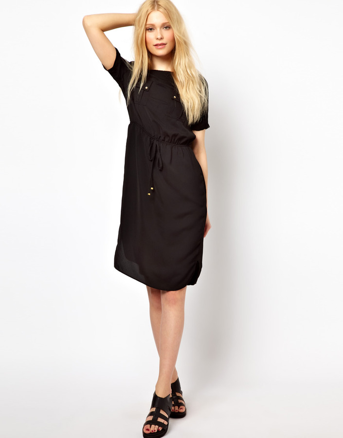 River Island Drawstring Waisted Dress