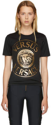 Versus Black Versace Lion T-Shirt