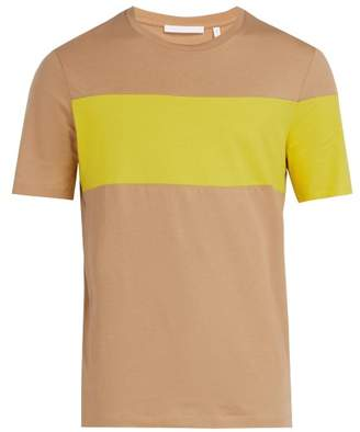 Helmut Lang Logo Print T Shirt - Mens - Camel