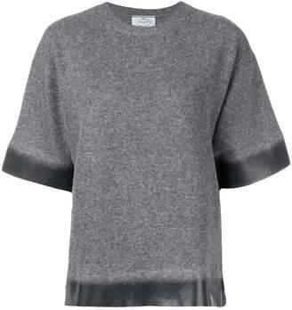 Prada gradient knit jumper