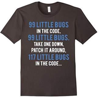 Programmer Shirt - 99 Little Bugs In The Code Shirt