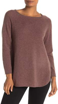 InCashmere In Cashmere Bateau Neck Cashmere Sweater