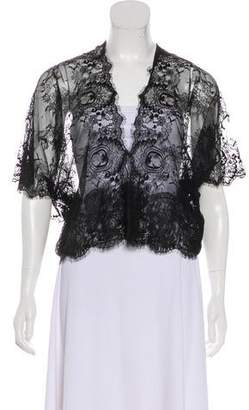 Loyd/Ford Lace Open Front Blouse w/ Tags