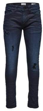 ONLY & SONS Destroyed Slim-Fit Jeans