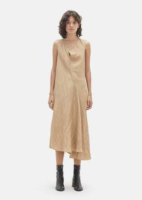 Acne Studios Deala Slub Linen Dress