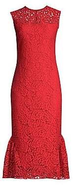 Shoshanna Women's Manor Floral Lace Dress - Size 0