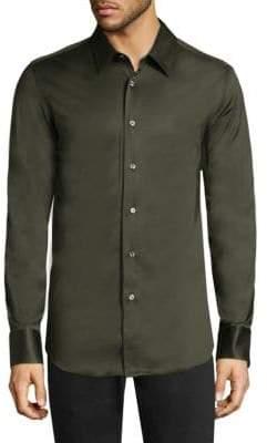 Brioni Regular-Fit Button-Down Shirt