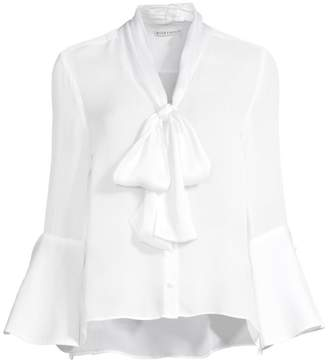 Alice + Olivia Meredith Bell-Sleeve Blouse
