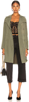 L'Agence Elise Belted Trench
