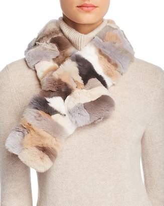 Salvini Giorgio Barcellona Rex Rabbit Fur Scarf - 100% Exclusive