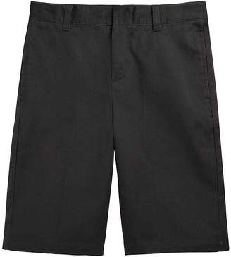 JCPenney French Toast Flat-Front Cotton Shorts - Boys 8-20 and Husky