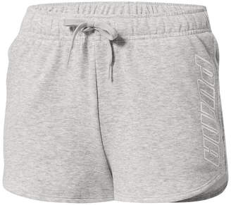 Puma Out Of This World Womens Mid Rise 3 3/4 Workout Shorts