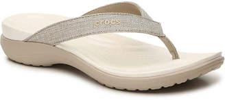 Crocs Capri Shimmer Sandal - Women's