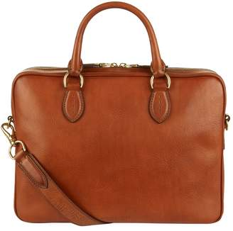 Ralph Lauren Purple Label Leather Briefcase