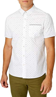 7 Diamonds Vision Quest Slim Fit Cotton Shirt